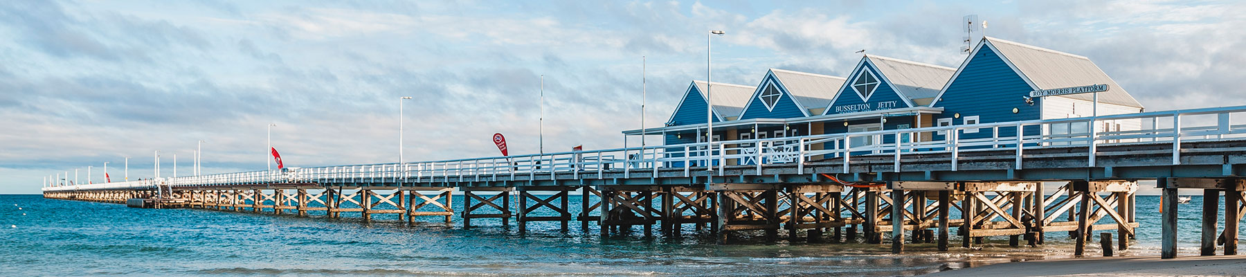 page header busselton jetty